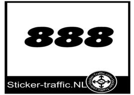 Ducati 888 sticker