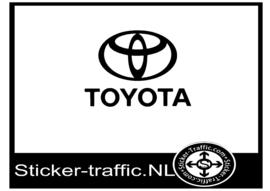 Toyota logo sticker
