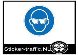 Oogsbescherming sticker