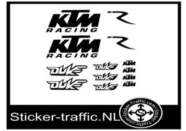KTM Racing Set Stickers DUKE KTM Tank Motor 13 stickers