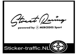 MERCEDES Street Racing Sticker