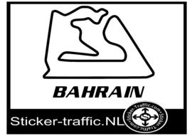 Sakhir Bahrain circuit sticker