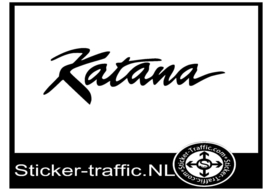 Suzuki katana design 1 sticker