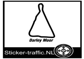Darley Moor circuit sticker