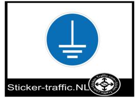 Gebodspictogram stickers
