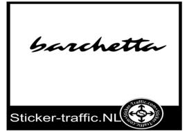 Fiat Barchetta sticker