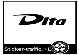 Dita hockey sticker