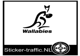 Australian rugby wallabies sticker