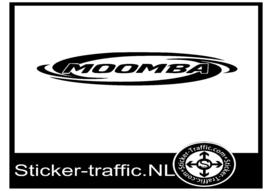 Moomba design 1 sticker