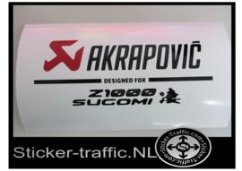 Akrapovic Z1000 Sugomi Sticker