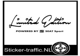 SEAT Limited Edition Sticker