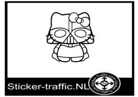 Hello Kitty design 3 sticker