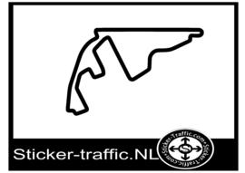 Yas Marina circuit sticker