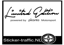 PICANTO Limited Edition Sticker