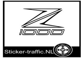 Kawasaki Z1000 sticker