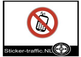 Gsm verboden sticker