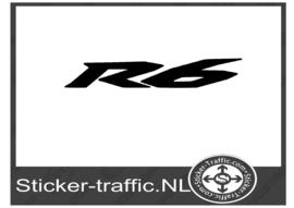 Yamaha R 6 sticker