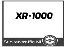 XR 1000 sticker