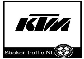 KTM design 3 sticker