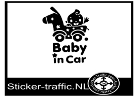 Baby on board design 1 sticker
