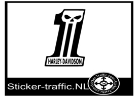 Harley Davidson design 34 sticker