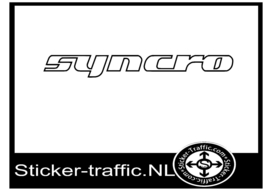 Syncro sticker