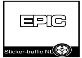 Epic sticker