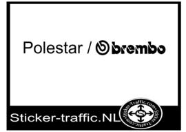 Polestar Brembo sticker