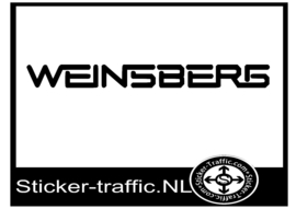 Weinsberg caravan sticker