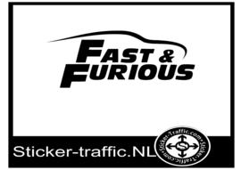 Fast & Furious sticker