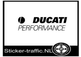 Ducati performance logo sticker
