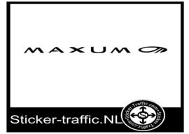 Maxum sticker