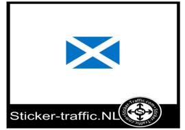 Schotland vlag sticker