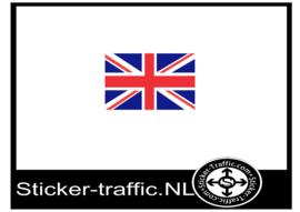 Engelse vlag sticker