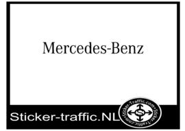 Mercedes  stickers
