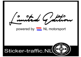 NL Vlag Limited Edition Sticker