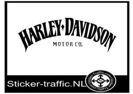 Harley Davidson motor co tank sticker