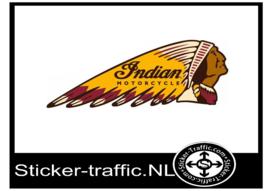Indian Tank sticker Rechts