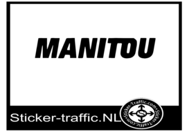 Manitou sticker