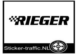Rieger sticker