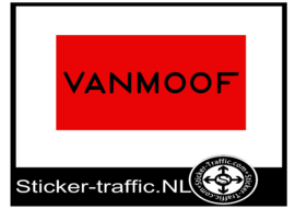 Vanmoof sticker 10 cm x 5 cm