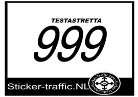 Ducati testastretta 999 sticker