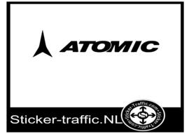 Atomic hockey sticker
