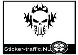 Punisher design 4 sticker