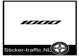 Honda 1000 sticker