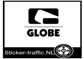 Globe skateboard sticker