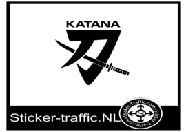 Suzuki katana design 3 sticker