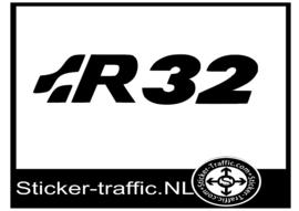 VOLKSWAGEN R32 remklauw sticker