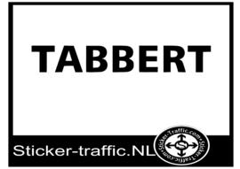 Tabbert sticker