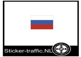Rusland vlag sticker